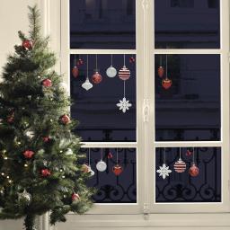 Fenster-Sticker Christbaumschmuck