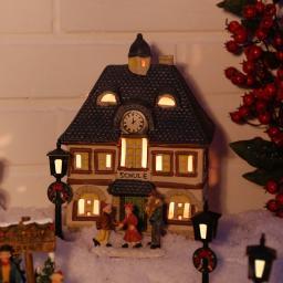 Miniatur-Lichthaus Alte Schule