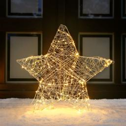 LED-Leuchtstern Deko-Star, groß