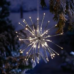LED-Leuchtstern Winter-Feuerwerk