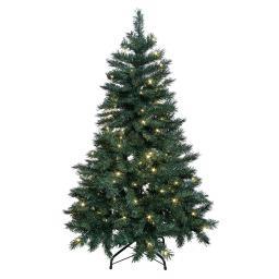 LED-Außen-Weihnachtsbaum Grüne Pracht, 150x80x80 cm, Kunststoff, grün