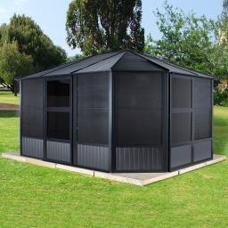 Pavillon Charleston 12x12, 281x384x384 cm