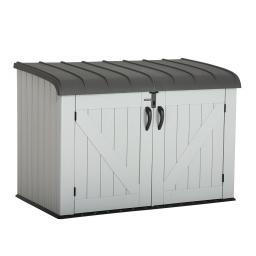 Lifetime Gerätebox-Mülltonnenbox, 132x191x108 cm, grau