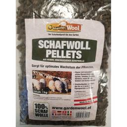 Schafwoll-Pellets, 1 kg