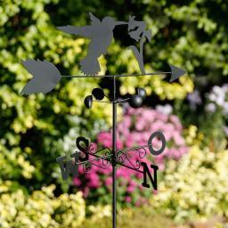 Windfahne Kolibri, Eisen