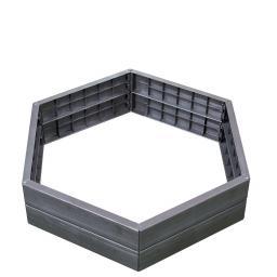 Garantia ERGO Hochbeet-System, Durchmesser 110xH 25 cm
