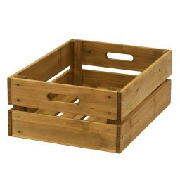 Aufbewahrungsbox 30x40x15,5 cm natur