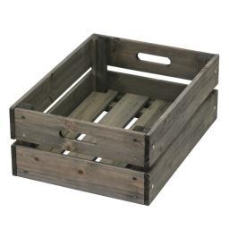 Aufbewahrungsbox 30x40x15,5 cm grau
