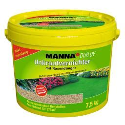 Manna  DUR UV Unkrautvernichter mit Rasendünger, 7,5 kg