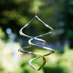 Windspiel Diamond, 36x25x25 cm, Edelstahl