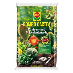 Compo Cactea Kakteen- und Sukkulentenerde, 5 Liter