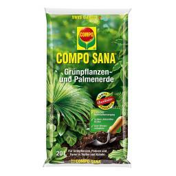 Compo Sana Grünpflanzen- und Palmerde, 10 Liter