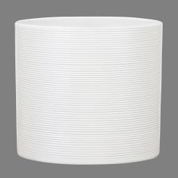 Keramik-Übertopf, rund, 13x14x14 cm, Panna