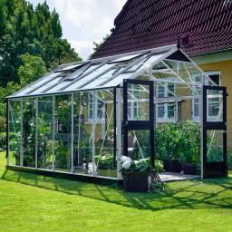 JULIANA Gewächshaus Premium 13,0 m², silber