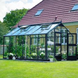 JULIANA Gewächshaus Premium 13,0 m², anthrazit