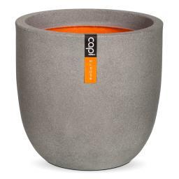 Pflanzkübel rund, 34x35x35 cm, grau