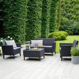 Lounge Set Arteco, grau