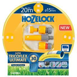 Hozelock Super Tricoflex Ultimate Durchmesser 5 mm, 20 m Starterset