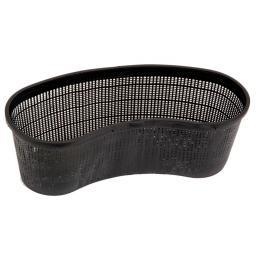 Teichpflanzkorb, oval, 15x19x45 cm, schwarz