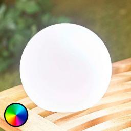 LED-Dekoleuchte Tomila, USB, RGB-Farbwechsel, 15 cm