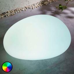 LED-Solarlampe Floriana, RGB-Farbwechsel, 32 cm