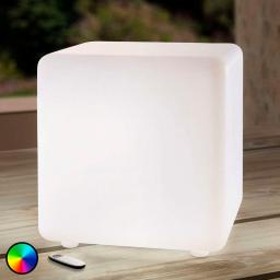 LED-Leuchtwürfel Insira, RGB-Farbwechsel, 20 cm