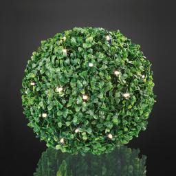 LED - Buchsbaum-Kugel, 23x23 cm, grün