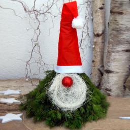 Weihnachtswichtel aus Nobilis-Tanne
