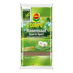 Compo Rasensaat Sport und Spiel, 4 kg