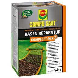Compo SAAT Rasen-Reperatur Komplett-Mix + , 1,2kg