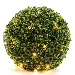 LED-Buchsbaumnetz, 35x35cm, grün