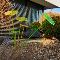 Swing Lights, 86x12x12 cm, Acrylglas, grün