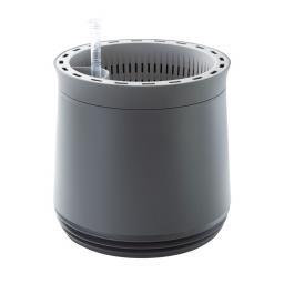 airy System Pflanzkübel M, 27 cm, Ø 28 cm, grau