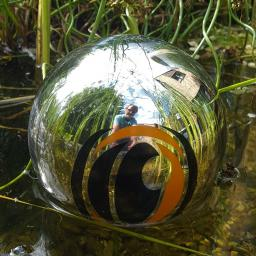 Reflektor-Schwimmkugel Reiherschreck