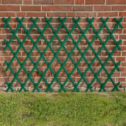 Rankspalier Kunststoff, 80 x 200 cm, grün