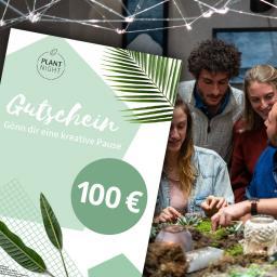 PlantNight Online-Geschenkgutschein 100€