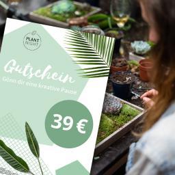 PlantNight Online-Geschenkgutschein 39€