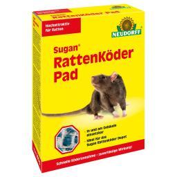 Neudorff Sugan® RattenKöderPad