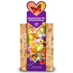 Blumenwiese für Schmetterlinge, 15 m²
