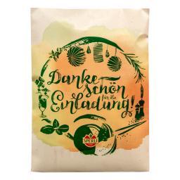 Saatgut Postkarte zum Verschicken - Saatteppich Salatmischung