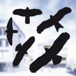 Vogelschutz-Aufkleber