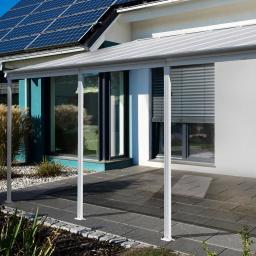 Terrassenüberdachung 8400, Aluminium pulverbeschichtet, ca. 618 x 303 x 278 cm