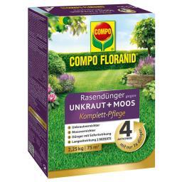Floranid Rasendünger 4in1,  2,25kg