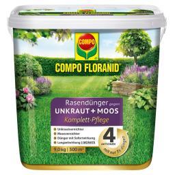 Floranid Rasendünger 4in1, 9 kg