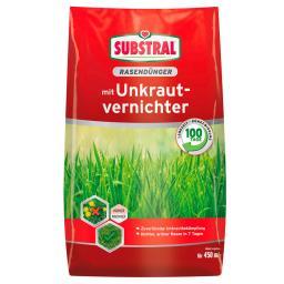 Rasendünger mit Unkrautvernichter für 450 qm, 9 kg