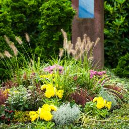 Sortiment Grabbepflanzung Modern, Urne