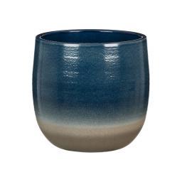 Übertopf Blue Allure, 15 cm, Blau