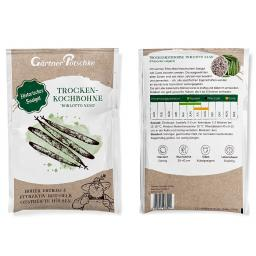 Trockenkochbohnensamen Borlotto nano