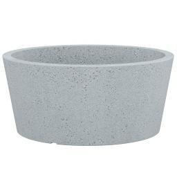 Pflanzkübel C-CONE Bowl, 40cm, Grau