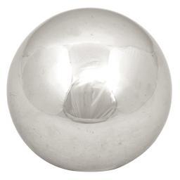 Dekokugel Edelstahl S, 10 cm